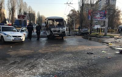 Четыре человека погибли в ДТП с участием автобуса в Воронеже
