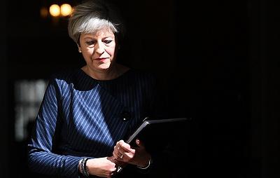 Telegraph: консерваторы Британии обсудят возможность вынесения нового вотума недоверия Мэй