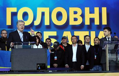 Трансляцию дебатов Зеленского и Порошенко на разных платформах посмотрели 5 млн раз