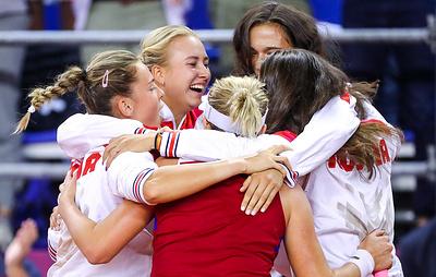 Россиянки вернулись во вторую мировую группу Кубка Федерации по теннису