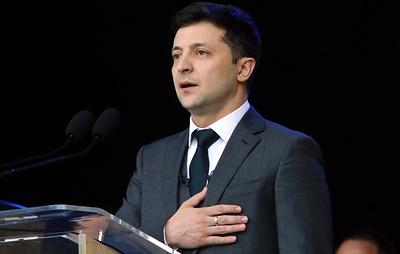 Зеленский набирает на выборах на Украине 70,36% после подсчета 1,08% голосов
