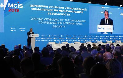 Своевременно, но не обязательно симметрично. В Москве обсудили вопросы безопасности