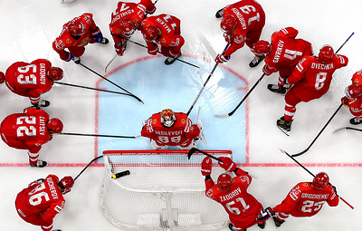 Сборная России сыграет с командой Финляндии в полуфинале чемпионата мира по хоккею