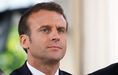 Макрон выразил поддержку пострадавшим в результате взрыва в Лионе