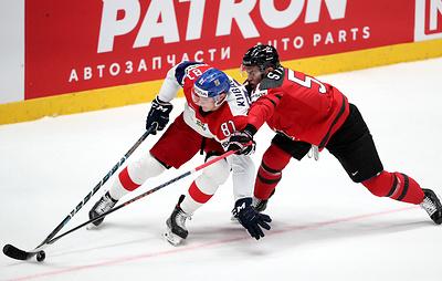 Сборная Канады обыграла команду Чехии в полуфинале чемпионата мира по хоккею