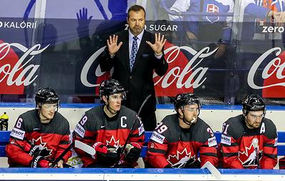 Тренер канадцев не удивлен поражению российских хоккеистов в полуфинале ЧМ