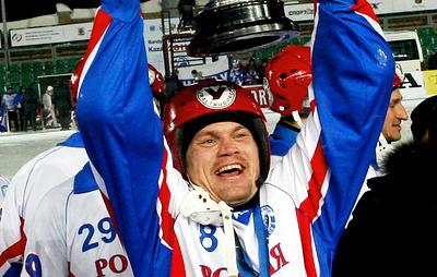 Восьмикратный чемпион мира по бенди Тюкавин завершил карьеру