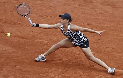 Теннисистка Барти обыграла Киз и вышла в полуфинал Roland Garros