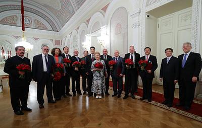 """ТАСС и """"Гуанмин жибао"""" определили выдающихся деятелей сотрудничества РФ и КНР"""