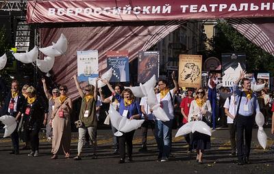 Воронеж встретил Всероссийский театральный марафон