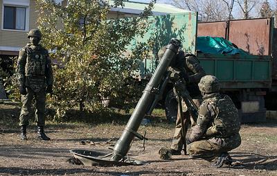 """В ДНР заявили о попытке прорыва украинского батальона """"Азов"""" на горловском направлении"""