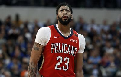 """СМИ: баскетболист """"Нью-Орлеана"""" Дэвис продолжит карьеру в """"Лос-Анджелес Лейкерс"""""""