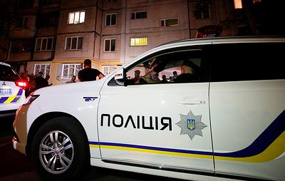 Взрыв разрушил три гаража в центре Киева
