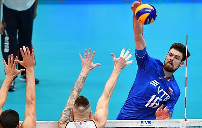Сборная России по волейболу проиграла иранцам в Лиге наций