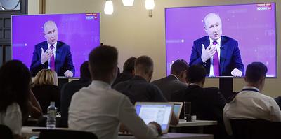 Человек, должный, говорить. Какие слова чаще всего звучали во время прямой линии с Путиным