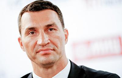 DPA: Владимира Кличко спасли с горящей яхты в Средиземном море