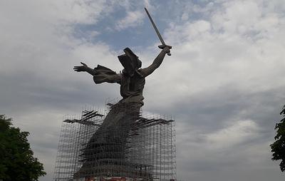 Скульптура Родины-матери на Мамаевом кургане после реставрации станет светлее