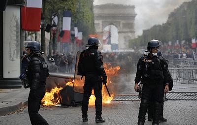 Более 170 человек задержаны в Париже за участие в несанкционированной манифестации