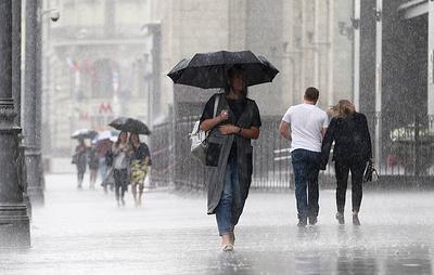 Грозы и ливни ожидаются в Москве 18 июля