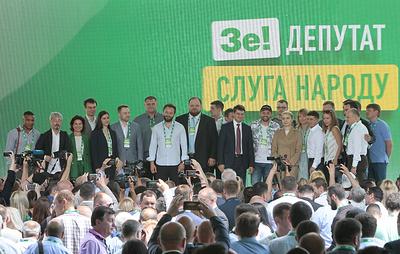 """Партию """"Слуга народа"""" на выборах в Раду поддержали 6,3 млн человек"""