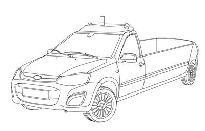 Российские студенты создали беспилотный катафалк на базе Lada