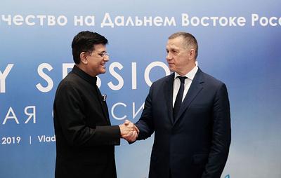 В преддверии ВЭФ-2019 на Дальний Восток прибыла представительная бизнес-делегация Индии