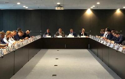 В Петербурге состоялось совещаниепо подготовке к саммитам ШОС и БРИКС