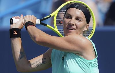 Кузнецова обыграла вторую ракетку мира Барти в полуфинале турнира в США