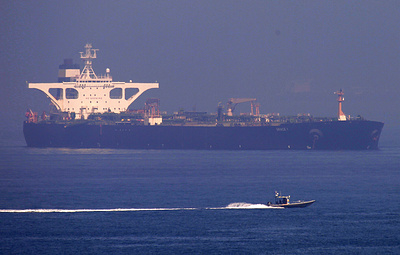 Посол Ирана заявил, что танкер Grace 1 покинет Гибралтар 18 августа вечером