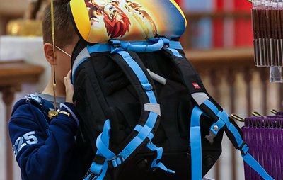 Роспотребнадзор назвал допустимый вес рюкзака с учебниками в 1-2 классах