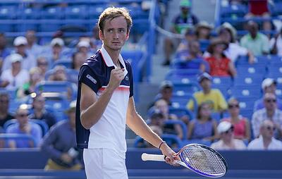 Россиянин Медведев вошел в топ-5 рейтинга ATP после победы в Цинциннати