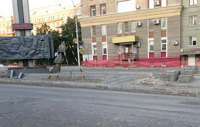 В Новосибирске в ходе ремонта дорог обнаружили дореволюционную каменную мостовую