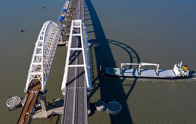 Движение поездов по Крымскому мосту откроют согласно графику до конца года