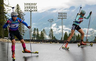 Латыпов и Глазырина стали бронзовыми призерами ЧМ по летнему биатлону в суперспринте