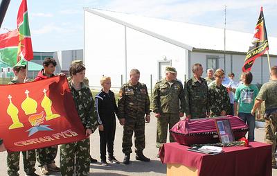 Украинские поисковики передали останки солдата из Бурятии, погибшего в боях под Харьковом