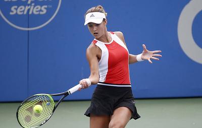 Теннисистка Калинская смогла пробиться в основную сетку Открытого чемпионата США