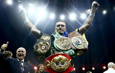 Украинский боксер Александр Усик отказался от поединков против россиян