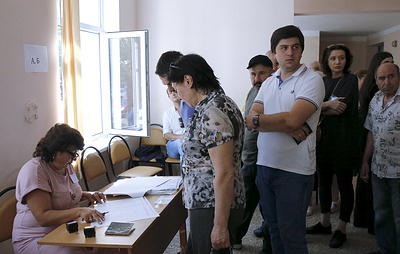 Явка на выборах президента Абхазии к 12:00 мск составила 19%
