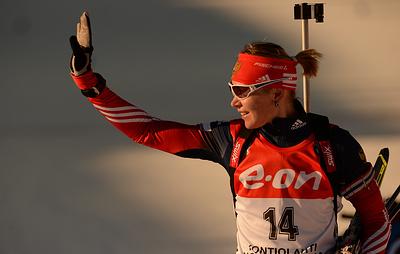 Биатлонистка Глазырина не ощущает негативного отношения к себе после допинговой истории