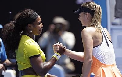 Шарапова стартует на US Open матчем с Сереной Уильямс