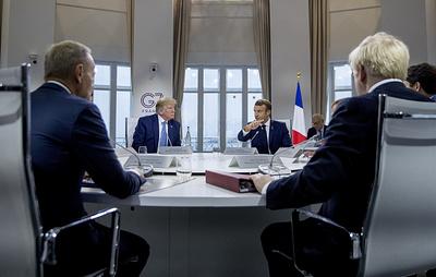 Guardian: Трамп поссорился с лидерами стран G7 из-за их позиции по России