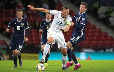 Показали характер в Глазго. Сборная России по футболу победила на выезде команду Шотландии