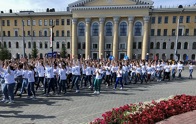 Жители Томска отметили 415-летие города