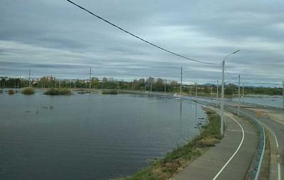 Уровень Амура у Комсомольска-на-Амуре достиг почти 830 см