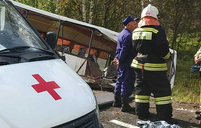 Число пострадавших в аварии с автобусом под Ярославлем возросло до 28