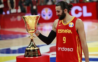 Испанец Рубио признан самым ценным игроком Кубка мира по баскетболу