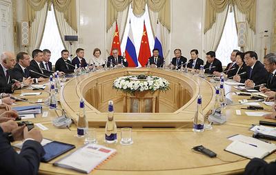 Россия и Китай планируют выйти на уровень $200 млрд взаимного товарооборота к 2024 году