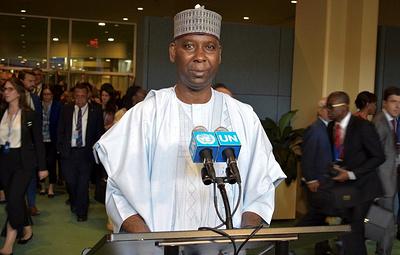 Новый председатель Генассамблеи ООН призвал удвоить усилия для процветания человечества