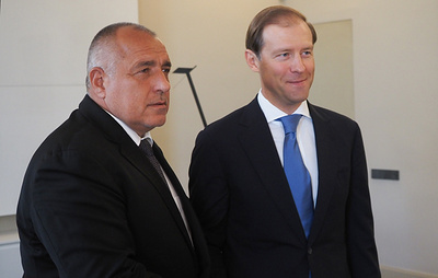 """Болгария начинает строительство газопровода """"Балканский поток"""""""