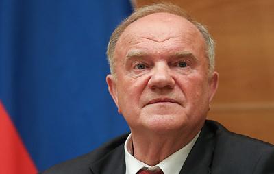 """Зюганов предложил """"уплотнить"""" политическую систему России"""